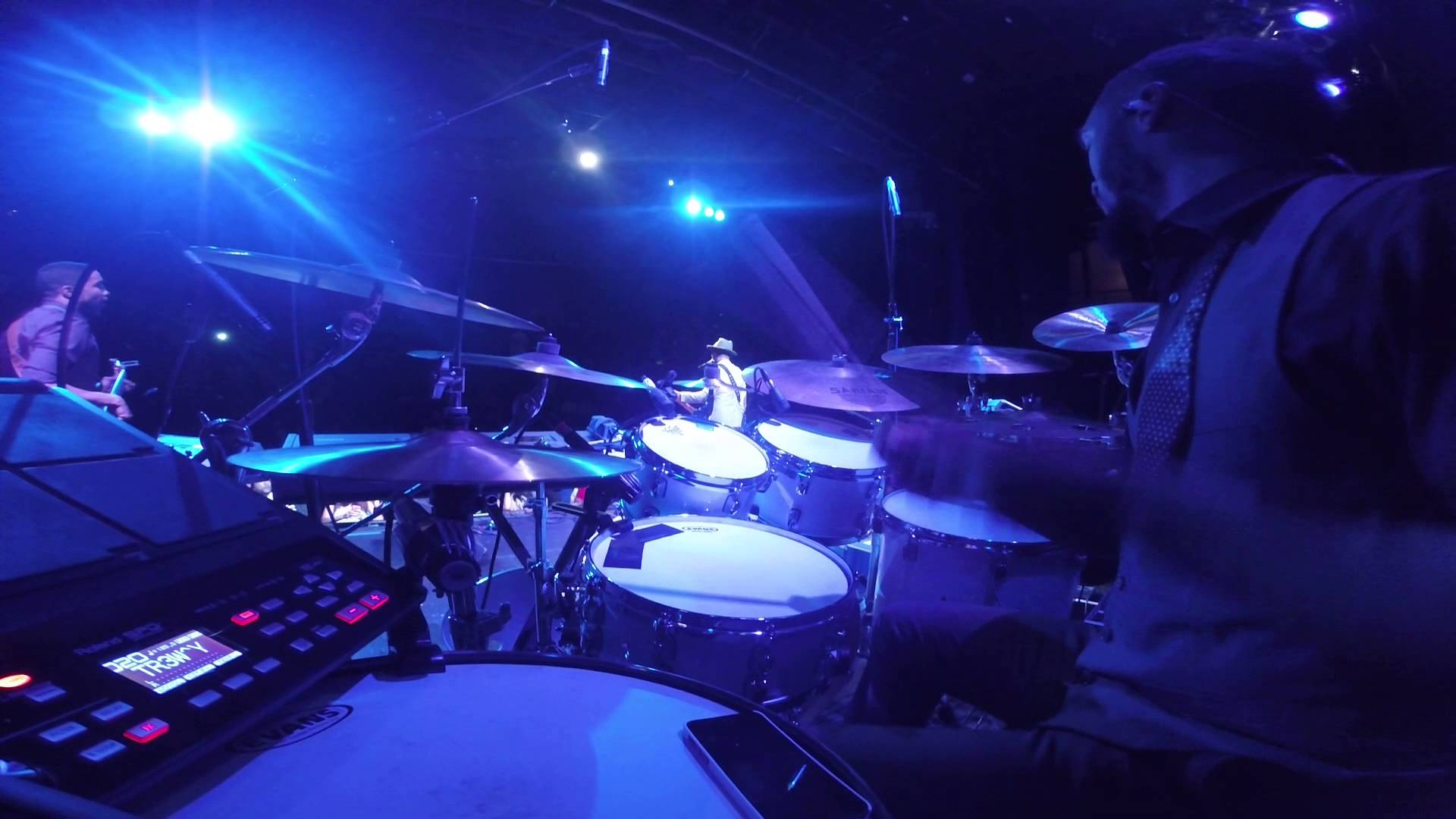 How to Play Drums Onstage