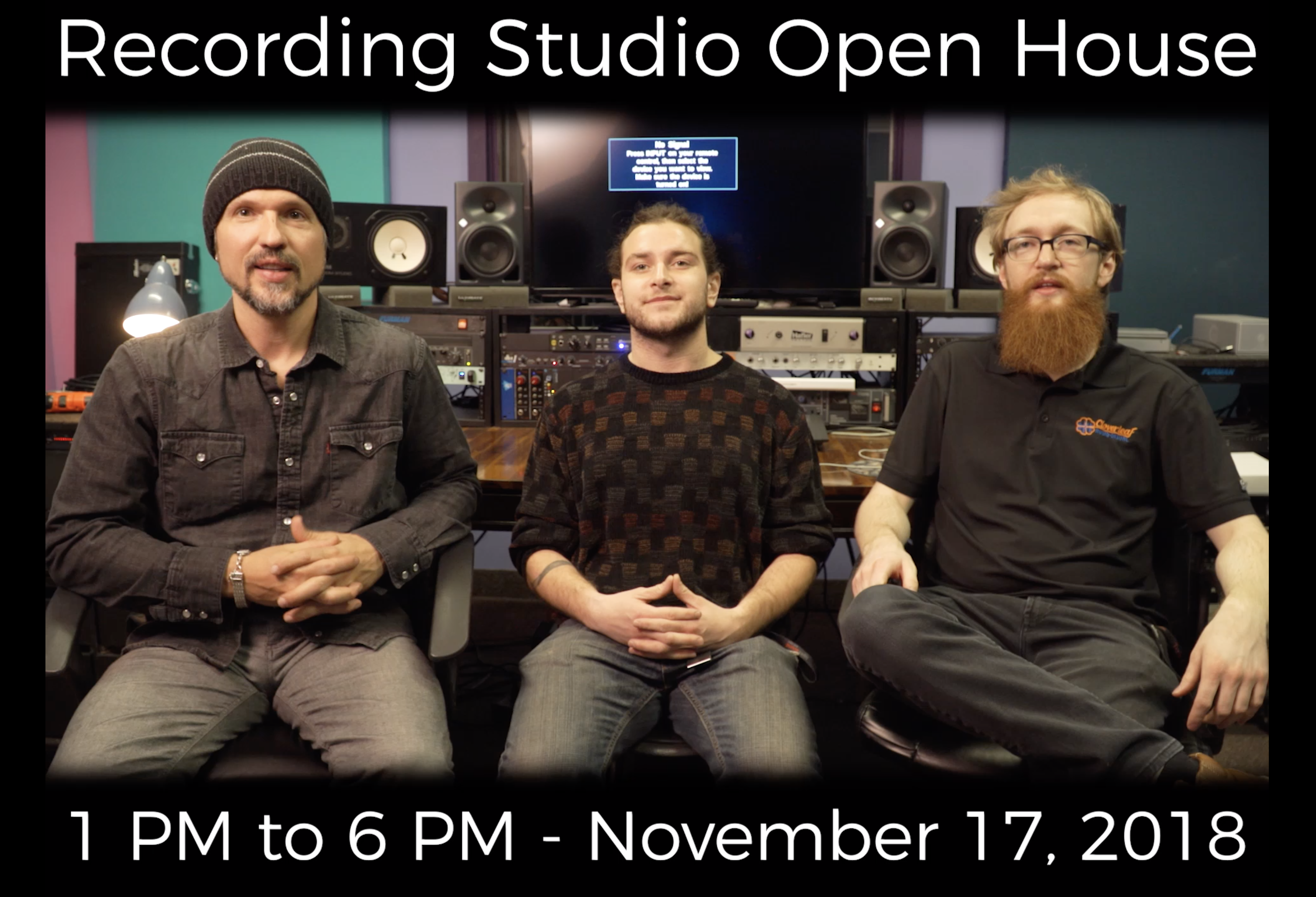 Taylor Sound Open House – 11/17/18 – 1-6pm