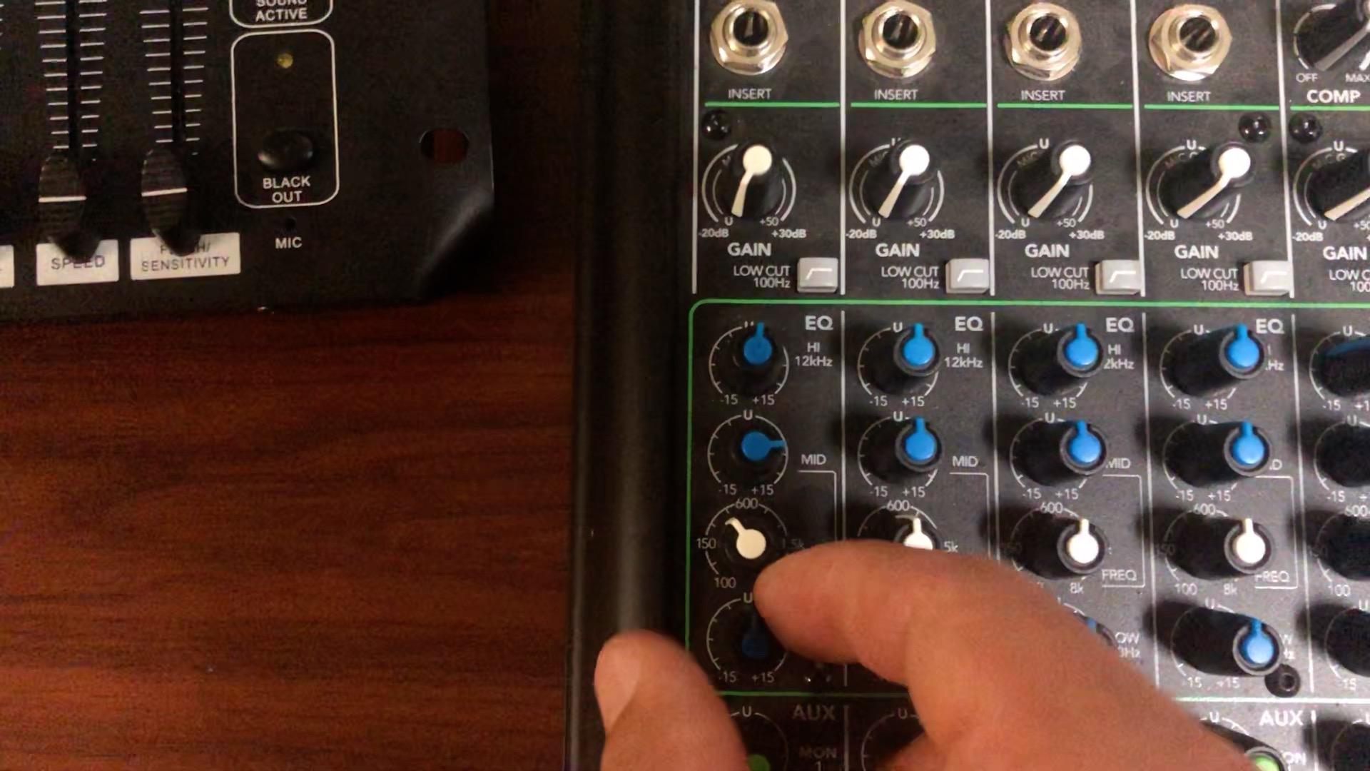Mixer Basics Part 3 – Eliminating Feedback with a Parametric EQ